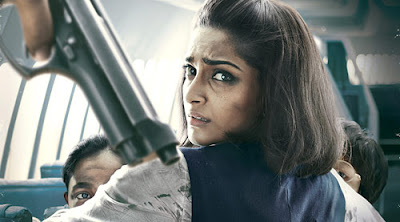 Sonam Kapoor as the braveheart Pan am airhostess Neerja Bhanot