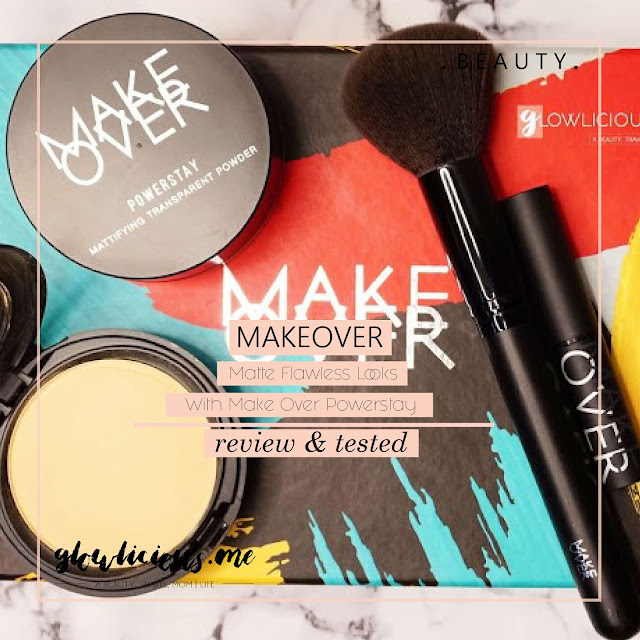 Matte Flawless Looks With Make Over Powerstay