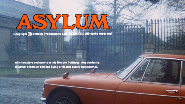 Car is stuck behind the Asylum title card and it won't move