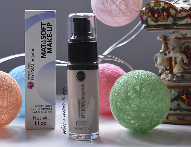 Base de Maquillaje Hypoallergenic Mat&Soft de Bell