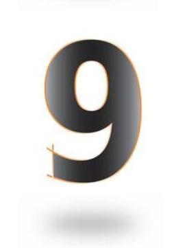 9, 18 व 27 तारखेला जन्मलेल्या व्यक्तींचा मुळांक 9 असतो. या मुळांकाचा प्रतिनिधी मंगळ ग्रह आहे. सुड काढणे, आक्रमक, प्रतिष्ठावान व वैमनस्यवादी असतात. त्यांच्यातील स्वभावानुरुप वेगळेपणा दिसुन येतो.