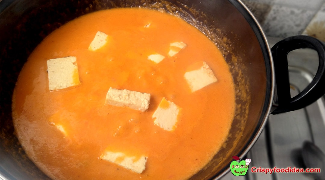 Paneer Butter Masala / Cheese Butter Masala Recipe