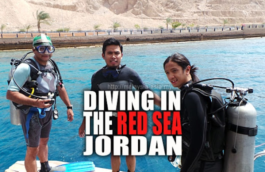 Diving in the Red Sea, Jordan