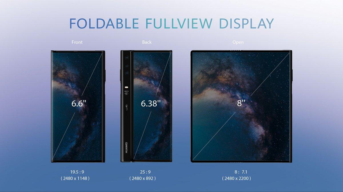 Mate-X-Huawei