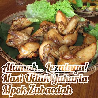 Nasi uduk Jakarta Mpok Zubaedah batam kepri
