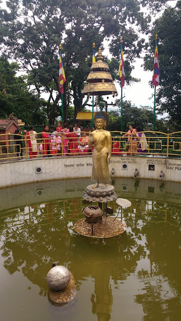 Wish Pond at Swayambhunath Temple area