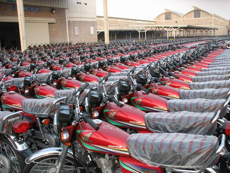 pakistan's growing middle class drives motorcycle sales boom