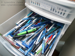 Taming of the Office Supplies - www.lysandrajames.com