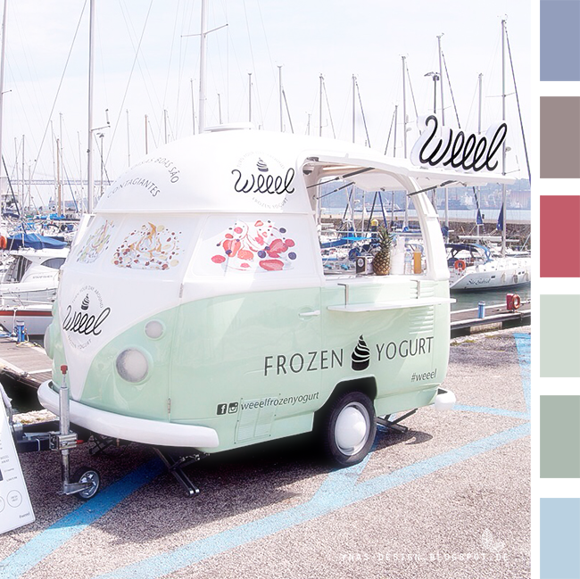 Ynas Design Blog | Colorcode | Frozen Yogurt