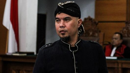 Pembelaan Berisi Curhat, Pembelaan Ahmad Dhani Ditolak