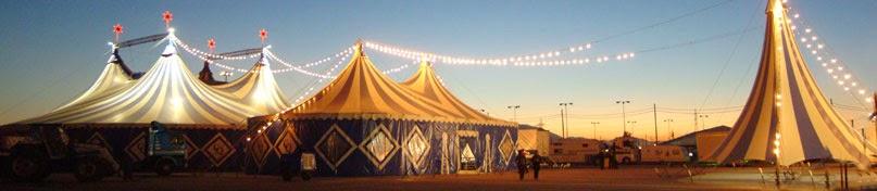 El circo Quirós en isal Azul estas Navidades