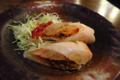 Nirai Kanai, taco spring rolls