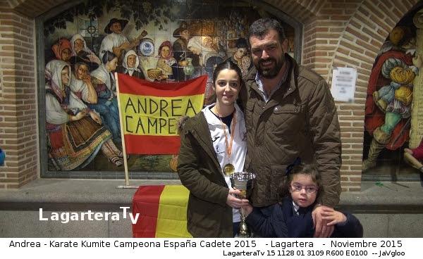 Posando con el Alcalde de Lagartera Jose Vicente Amor - LagarteraTv