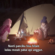 Yuru Camp Episode 01 Subtitle Indonesia