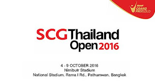 Thailand Open Grand Prix Gold 2016