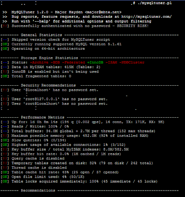 MySQL Tuner