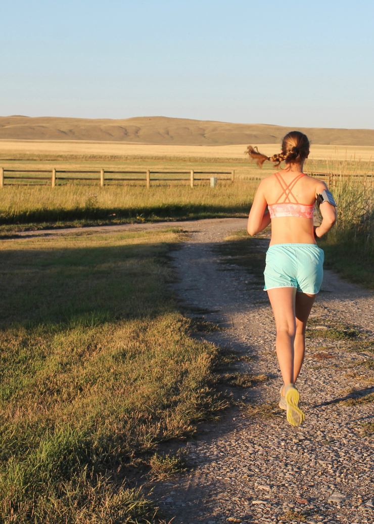 5 Things I Need to Make Time For - running outside