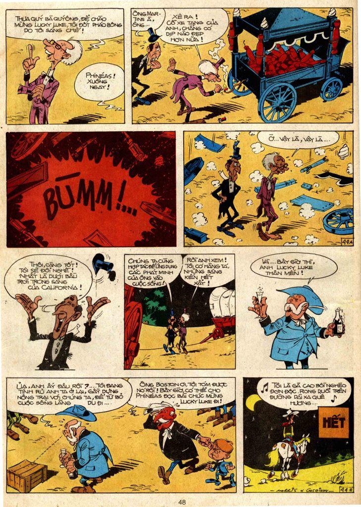 Lucky Luke tap 3 - doan lu hanh trang 43