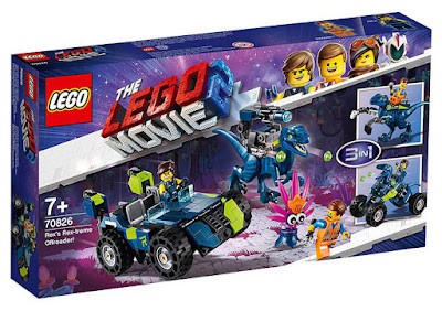 LEGO The Lego Movie 2 | La Lego Película 2 70826 Todoterreno Rextremo de Rex  | 3 en 1 Rex's Rex-treme Offroader!  Producto Oficial Película 2019 | Piezas: 236 | Edad: +7 años  COMPRAR ESTE JUGUETE