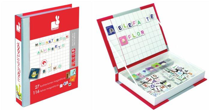 juguetes y juegos para ayudar a aprender a leer y escribir, alfabeto magnético