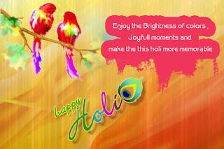 Happy Holi Wishes in Hindi