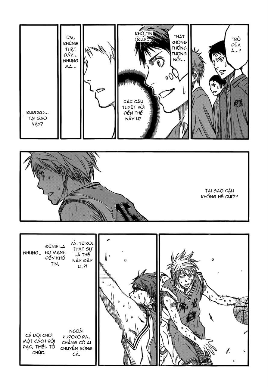 Kuroko No Basket chap 225 trang 18