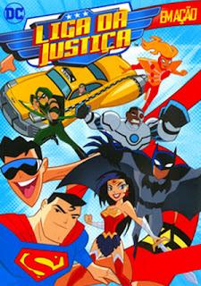 Liga da Justiça em Ação - DVDRip Dublado