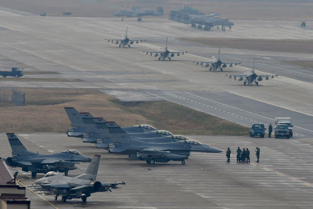 Maxi US-Korea exercise Aviationist