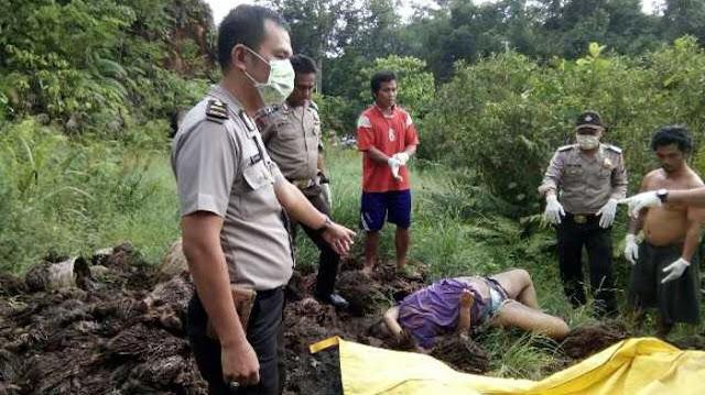 BREAKING NEWS: Kepala Berdarah Dan Tubuh Penuh Luka Bakar , Mayat Wanita Hamil Ini Diduga Korban Pembunuhan.