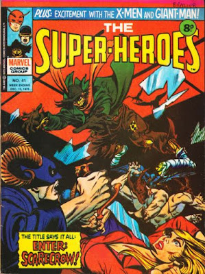 Marvel UK, the Super-Heroes #41, the Scarecrow