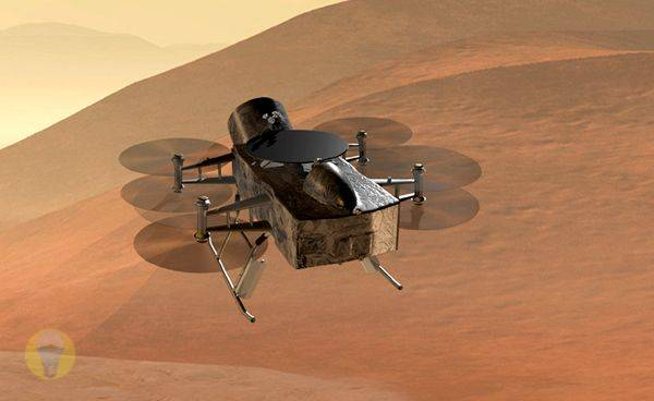 NASA's Nuclear Drone Will Search for Life on Titan