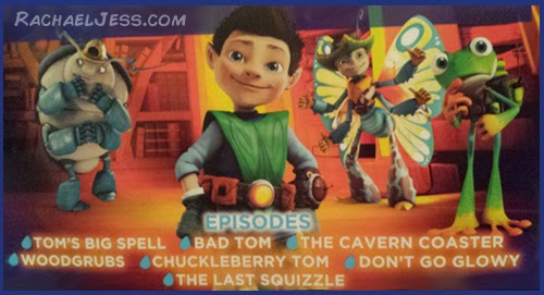 7 new Tree Fu Tom Episodes
