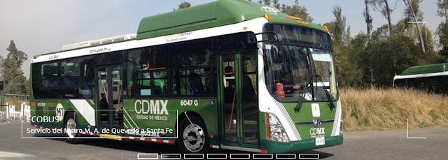 Autobuses híbridos para una Ciudad de México que alberga ciudades (como Ciudad Carso en Polanco)