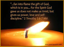 Fan Into Flame The Gift Of God In You Hammer On Anvil