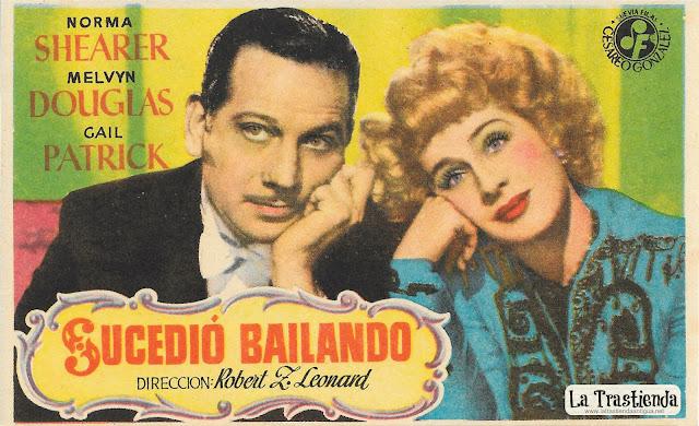 Sucedió Bailando - Programa de Cine - Norma Shearer - Melvyn Douglas