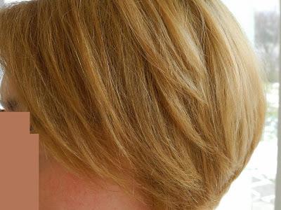 Wasze włosy u Mysi. Z brudnego rudego na złocisty jasny blond.