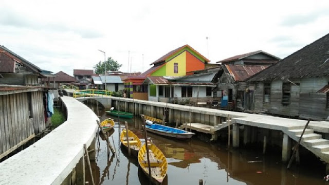 Kampung Beting, Wisata Pontianak yang Fotogenik