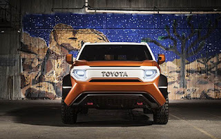 Toyota FT-4X SUV Concept Front