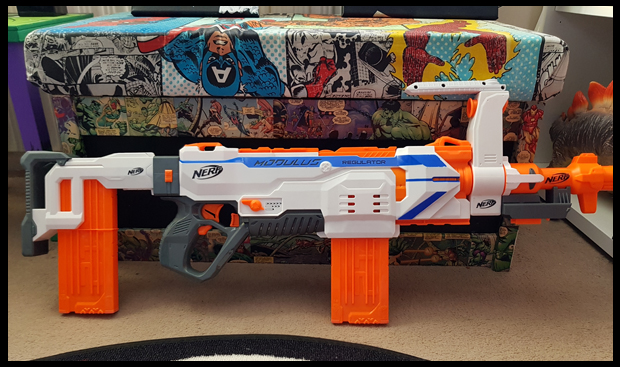 The Nerf Modulus Regulator available from Very.co.uk
