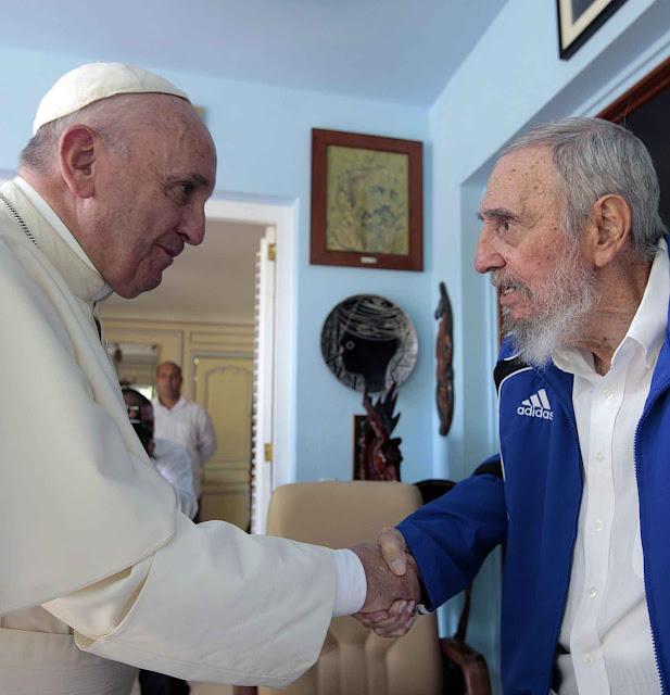 Após as sucessivas mortes de líderes comunistas e derrotas eleitorais de seguidores, o Papa Francisco foi ficando como o faro que orienta esquerdas sulamericanas.