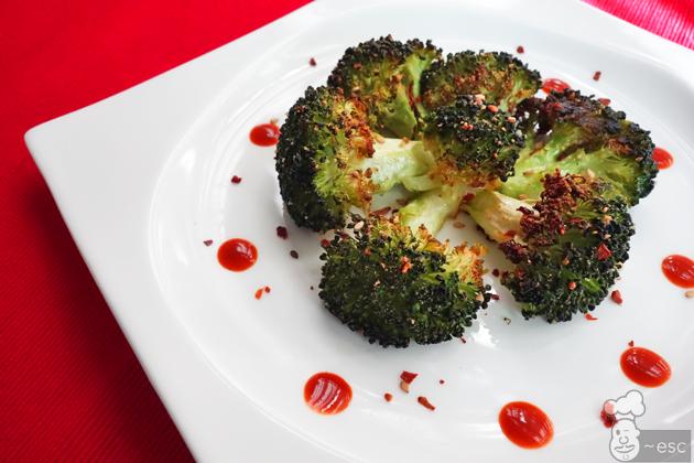 Brócoli al horno con bechamel