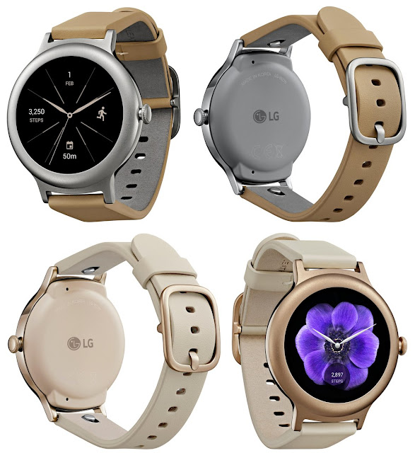 Bocoran Gambar Terbaru dari LG Watch Style