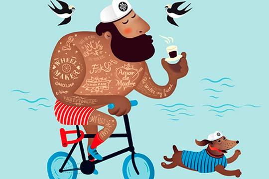 EnBiciArte. Rent a Bike de Stiliana Mitzeva