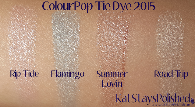 ColourPop Tie Dye 2015 | Kat Stays Polished