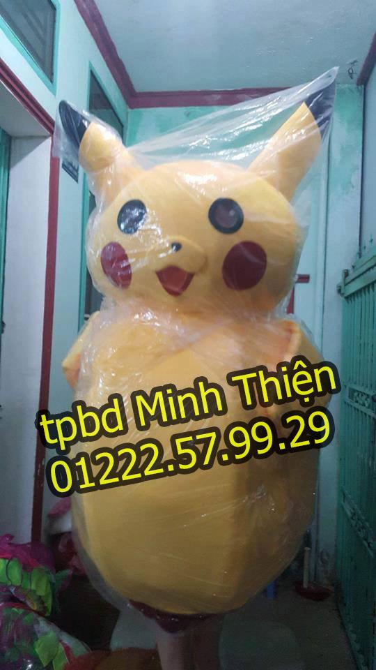 Chuyên Bán Và Cho Thuê Mascot Pikachu Tại Tphcm