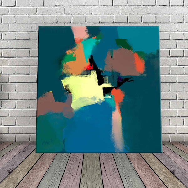 Free Abstract Paintings-Wall Decor