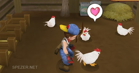 Ayam di Harvest Moon Hero of Leaf Valley