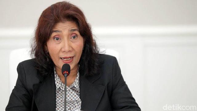 Jawab Kelakar 'Reshuffle' Prabowo, Susi: Kerugian Rp2.000 Triliun itu Sebelum Jokowi