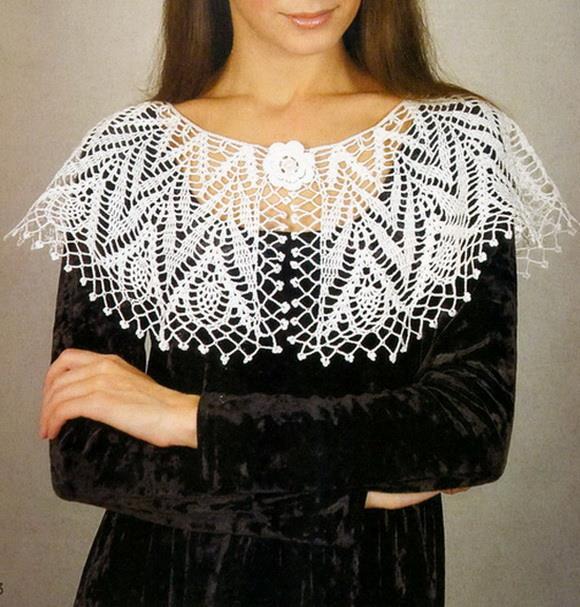 Stylish Easy Crochet Crochet Collar Pattern Amazing Lace Collar