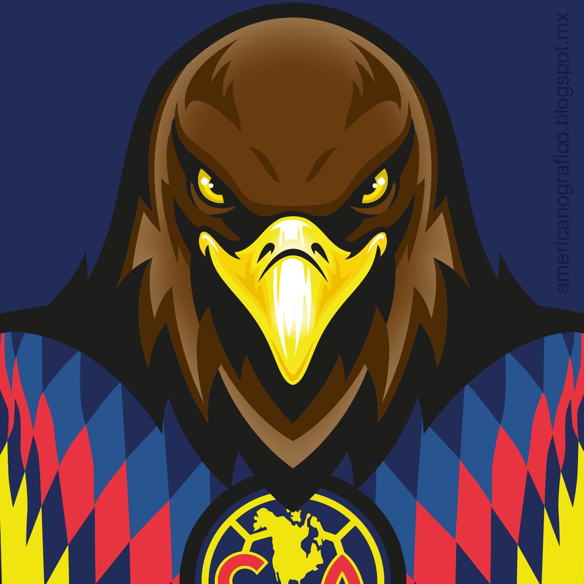 Americanografico águilas Del América